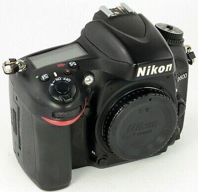 Nikon D600 Body / Gehäuse DSLR Kamera