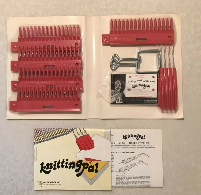 Vintage Walter Palange Knitting Pal Machine As Seen On TV