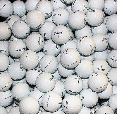 100 Titleist NXT Tour-S Practice AAA Used Golf Balls