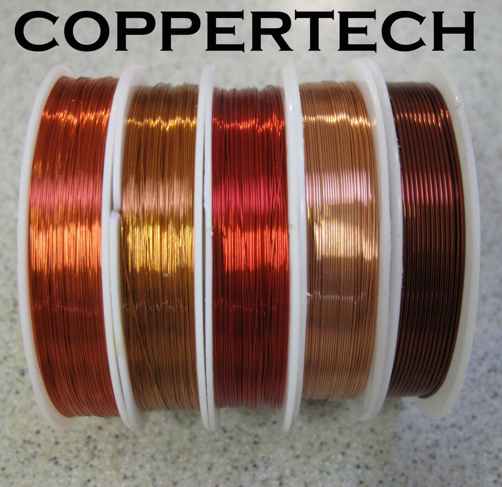 Jewellery - COPPER beading wire for jewellery, craft  0.1 - 3 mm Huge range, generous length