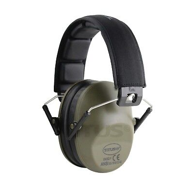 NEW 2018 EARMUFFS HEARING NOISE REDUCTION PROTECTION SHOOTIN