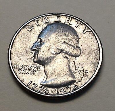 One - 1776 - 1976 USA Bicentennial Quarter Dollar Coin