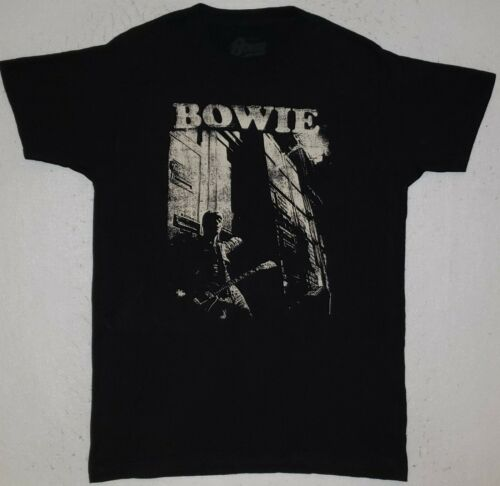 DAVID BOWIE Size Medium Black T-Shirt