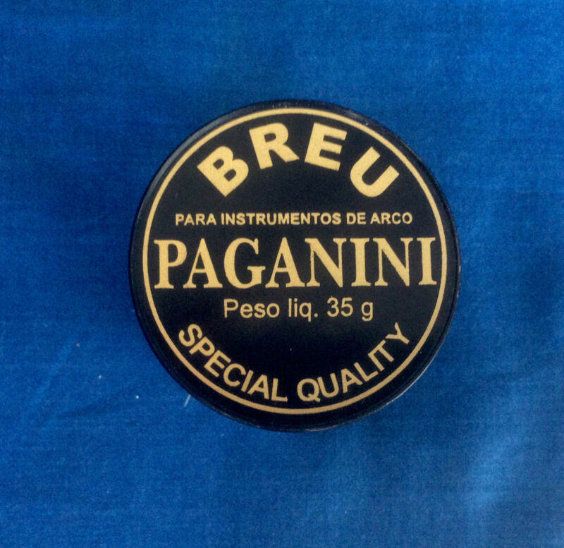 RESINE BREU PAGANINI FOR VIOLIN 35G TORELLI SPECIAL QUALITY FOR STRING ISTRUMENT