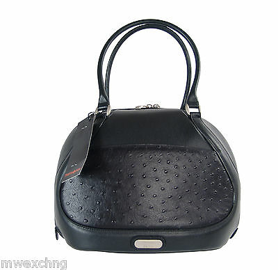 Samsonite Black Label McQueen All-Leather Black Beauty Bag