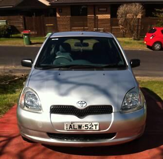 2002 Toyota Echo Hatchback Neutral Bay North Sydney Area Preview