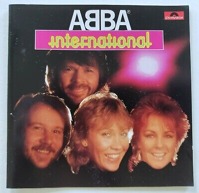 Abba - International 80's Polydor West Germany PDO Full Silver