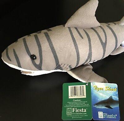 Fiesta Toy Sea & Shore 15'' Tiger Shark Stuffed Animal - Fiesta Toy