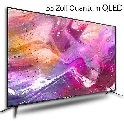 ★★★NEUHEIT★★★  QLED Quantum Fernseher 55 Zoll UHD LED Neuware✔DVB-T2-C-S2