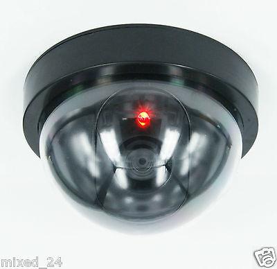 4x Dummy Kamera LED Überwachungskamera Attrappe Fake Alarmanlage Videokamera - Dummy Videoüberwachung