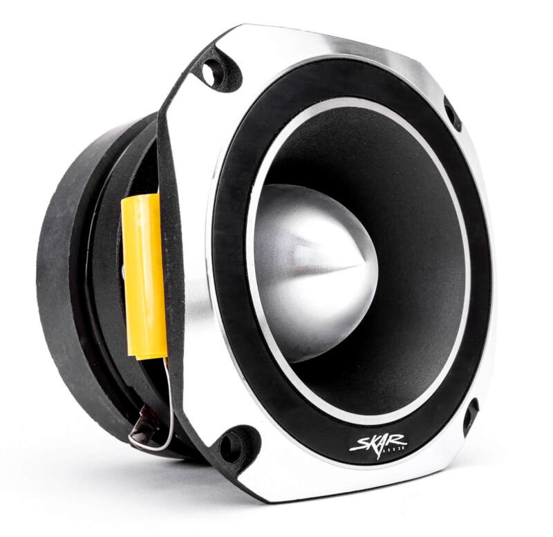 NEW SKAR AUDIO VX4-ST 4-INCH 600 WATT TITANIUM BULLET SUPER TWEETER - SOLD EACH