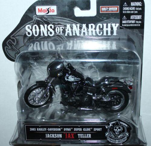 Maisto Sons Of Anarchy JAX TELLER Harley Davidson 1:18 Scale Diecast Motorcycle