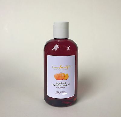PUMPKIN SEED OIL UNREFINED ORGANIC CARRIER COLD PRESSED VIRGIN RAW PURE 8 OZ Perfect Pumpkin Seeds