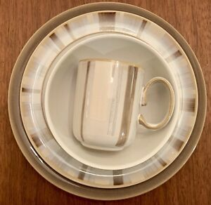 Denby Truffle dinner wear - dishes - service for 8