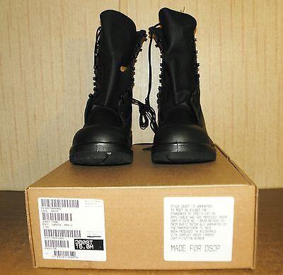 Belleville Military Steel Toe Combat Boots Ansi 75 Black 15M 15R Regular NIB .. for sale  Creighton