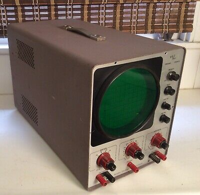 Vintage Vacuum Tube Oscilloscope From Devry Technical Institute Belle Howell