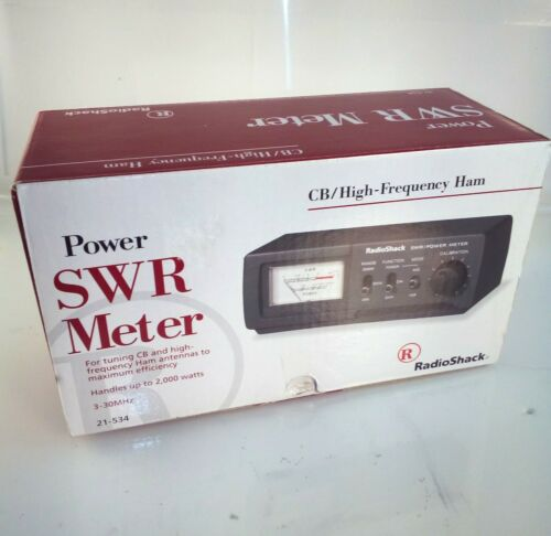 RadioShack CB/High-Frequency Ham Power SWR Meter