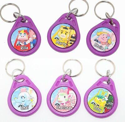 Amiibo Compatible Tag - Animal Crossing Hello Kitty Sanrio cards FULL SET OF SIX