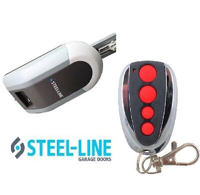 Genuine Steel-Line ZT-07 Garage Door Remote Steel Line SD800 Remote Control