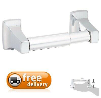 Roller Toilet Paper Holder - Spring-Loaded Toilet Paper Holder Mirror-Like Chrome Finish Bathroom Roller