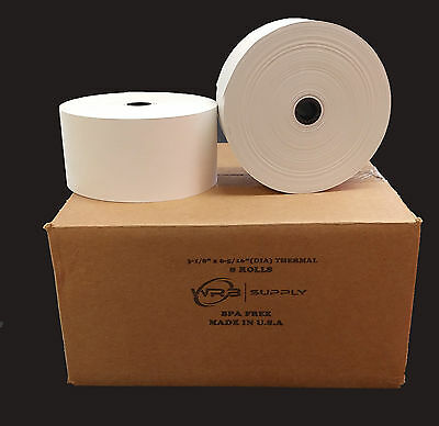 Tranaxcross Mini-bank Atm Paper - 3-18 X 815 Heavy Thermal Csi 1116