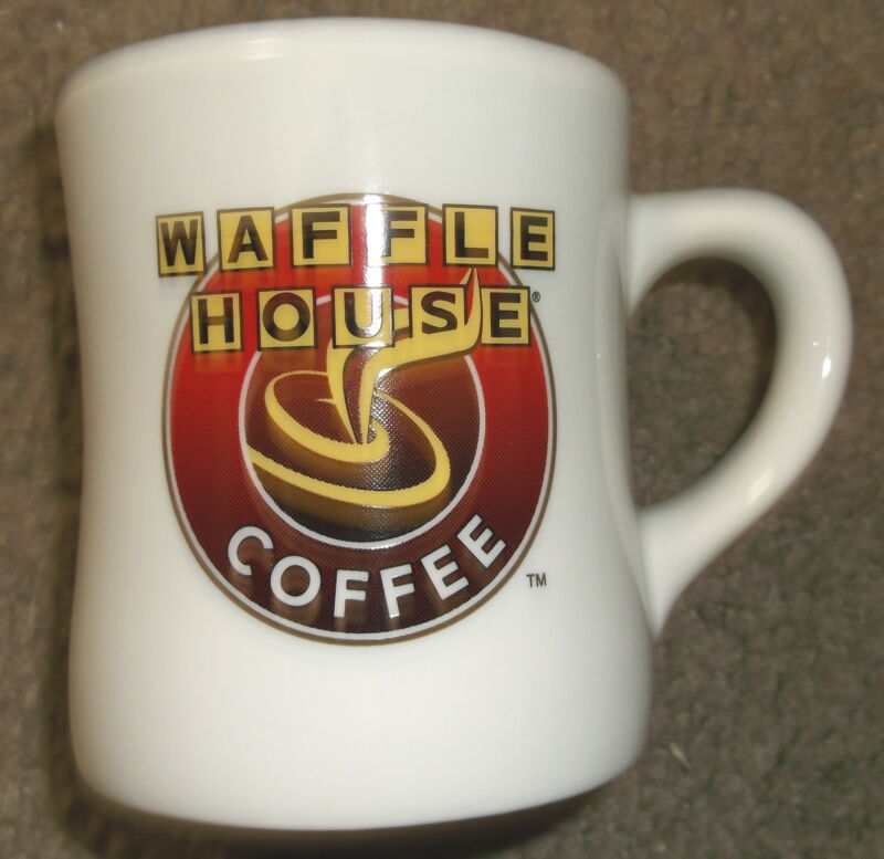 ~ Awesome ~ Brand NEW from BOX ~ 1 Waffle House TUXTON Mug ~ Great Gift Idea ~