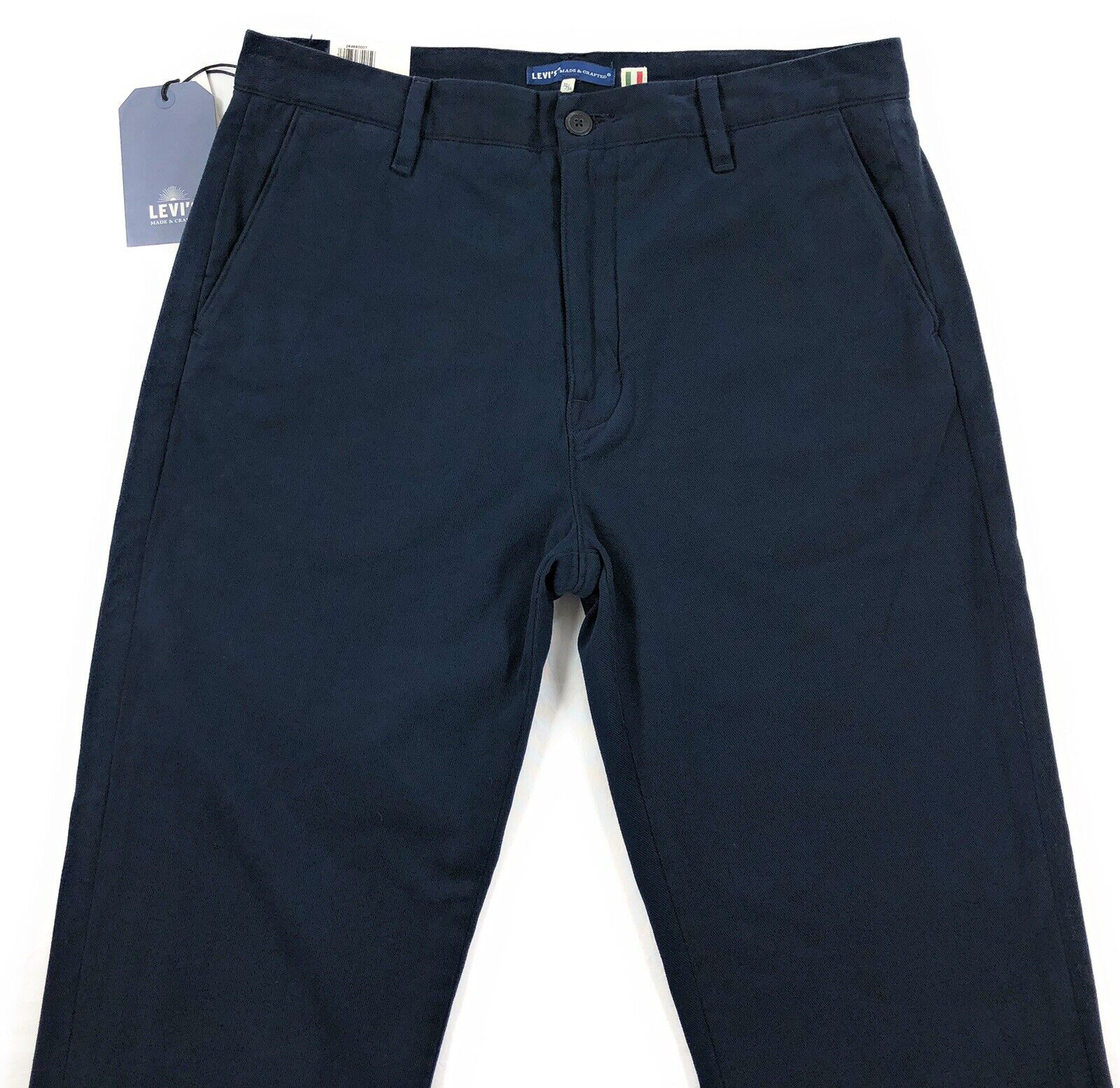 Levis Made & Crafted Chino Pants Mens 32x34 Slim Fit Italian