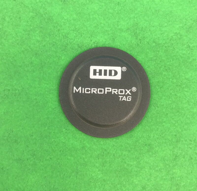 Lot of 50 HID Corporation 1391NSSNN MICROPROX TAG Non-Programmed