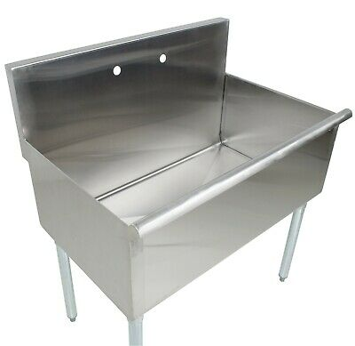 36 16-gauge Stainless Steel One Compartment Commercial Utility Sink - 36 X 21