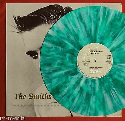 The Smiths  Shoplifters Of The World  German Green Splatter Vinyl 12   Record