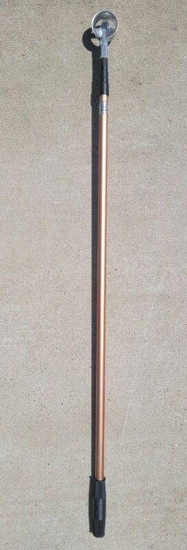 Vintage 9 Foot Expandable Retractable Golf Ball Retriever Pole Grab Trees Bushes