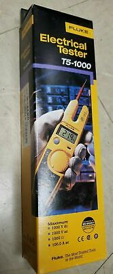 Brand New Fluke T5-1000 Usa Voltage Continuity And Current Tester 1000v Acdc
