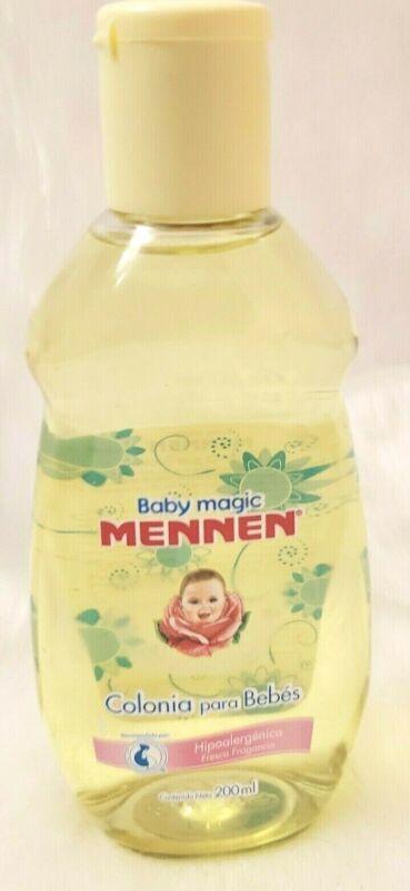 2 Bottles Baby Magic Mennen Cologne - Colonia Mennen Para Bebe, 200 ml