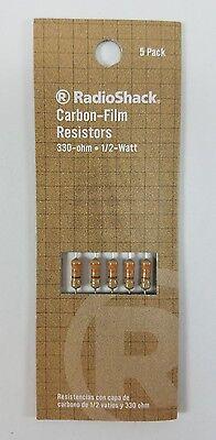 Radioshack 330-ohm 12-watt 5 Carbon Film Resistor 5-pack 271-1113
