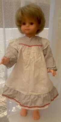 Vintage 20 Inch Doll Made In Republic Of Ireland Crolly Style