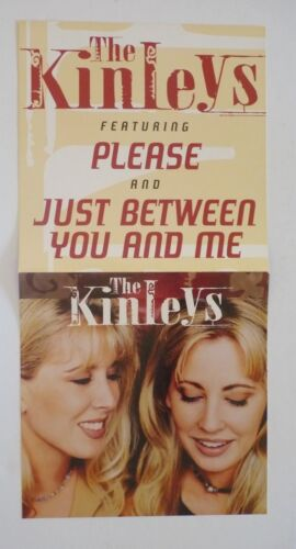 The Kinleys LP Record Photo Flat 12x24 Poster