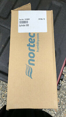 Nortec Steam Humidifier Cylinder Canister 202 Used