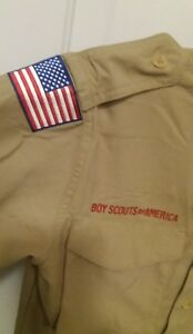 BSA official Uniform Shirt Youth 8 10 small Webelos Cub Boy Scout Pack Troop