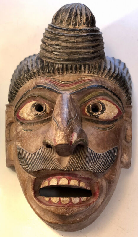 Antique Nepal Tribal Mask