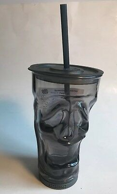 Cool Gear Halloween Tumblers (Halloween Cool Gear 18oz Grey Screaming Face Reusable Tumbler W/Straw Travel)