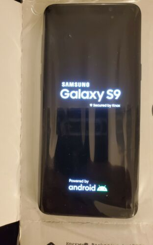 Samsung Galaxy S9 SM-G960 - 64GB - Midnight Black Verizon With Box Unused  - $356.00