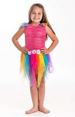 Little Girls Fairy Dresses (NWT Little Adventures Girls Small Rainbow Fairy Costume)