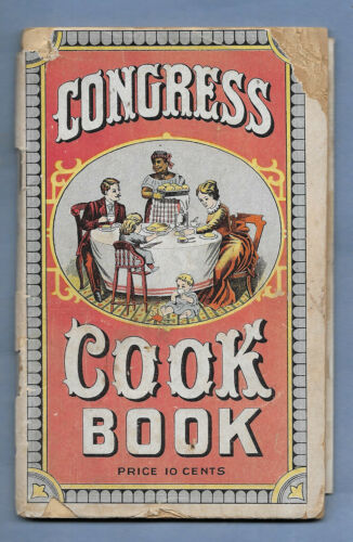 VINTAGE ADVERTISING COOK BOOK SLADE