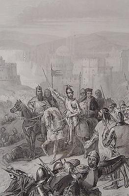 Konstantinopel Byzanz Istanbul 1402 Osmanen Marschall Boucicault Sultan Bayezid