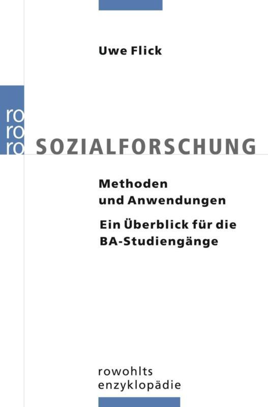 Sozialforschung | Uwe Flick | Taschenbuch | rororo Enzyklopädie | Deutsch | 2009