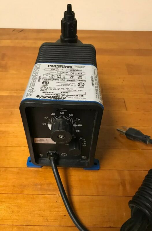 Pulsatron LD54SA-PVC1-XXX Electronic Metering Pump