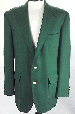 HARDWICK CLOTHES for JC Harris Kelly Green Suit Blazer/Sport Coat VTG Mens 42L