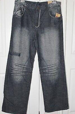 Academy Jeans Men's The Original True Blue Jeans Tag Size: 38