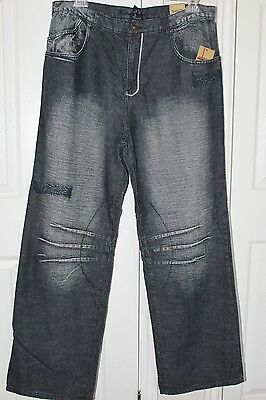 Academy Jeans Men's The Original True Blue Jeans Tag Size: 38