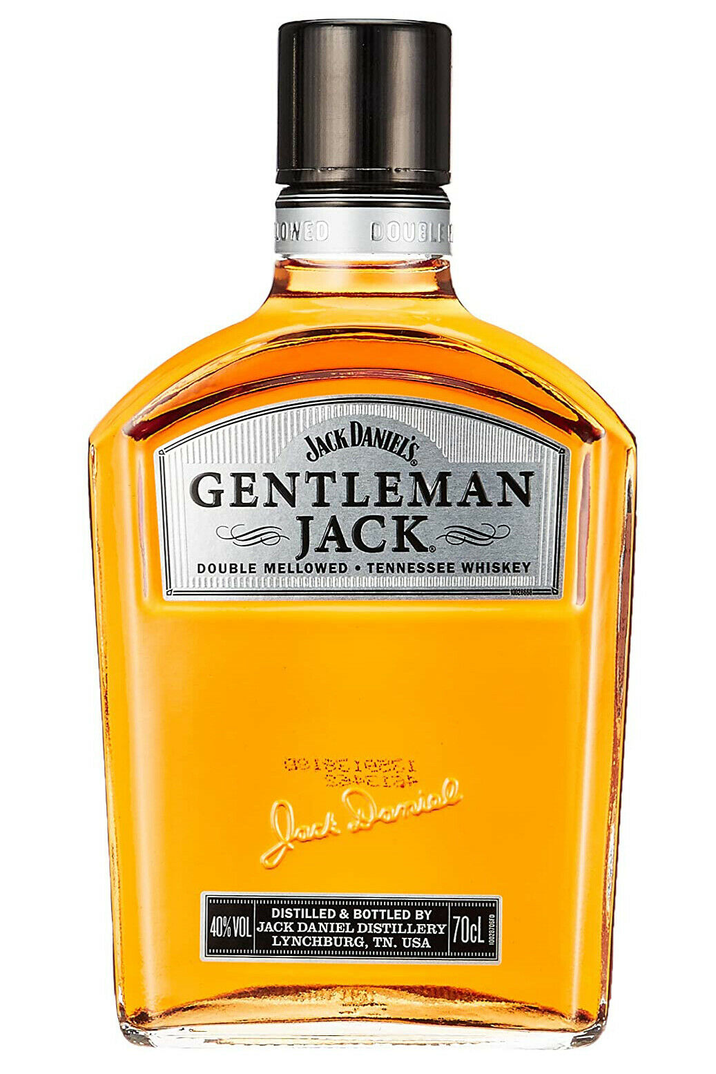 JACK DANIELS Gentleman Jack   Tennessee Whiskey Double Mellowed   40,0%   0,7 L